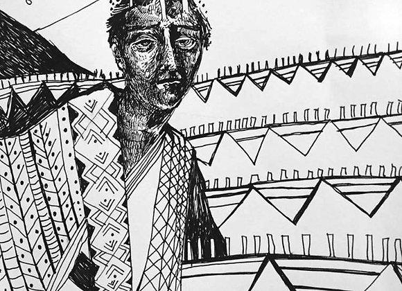 Regele Animalelor - ilustratie - Smaranda Isar