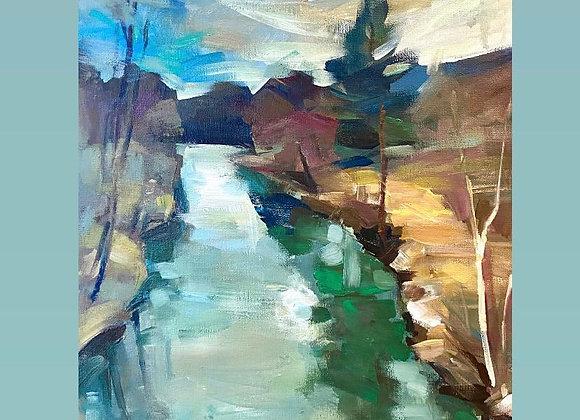 Raul Buzau - pictura Ruslan Cirlan