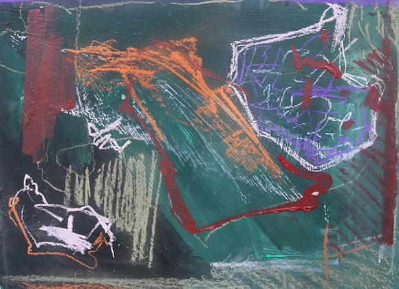 Repaos - pictura Madalina Costache
