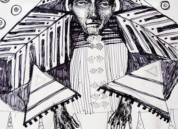 Femeie - ilustratie - Smaranda Isar