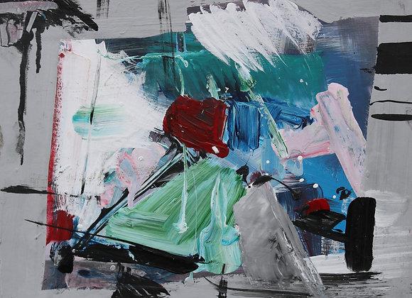 Carnaval - pictura Madalina Costache
