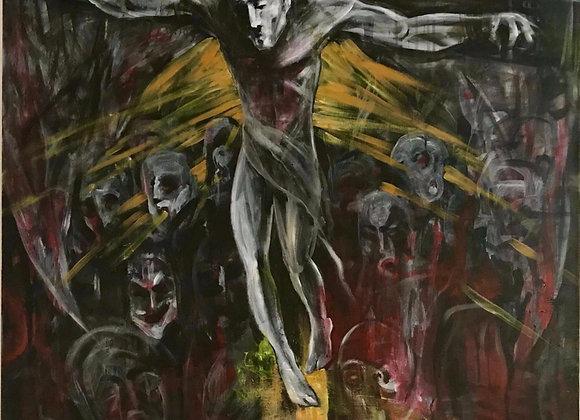 Sacrificiu - Ruslan Cirlan pictura