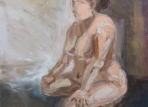 Femeie- pictura Madalina Costache