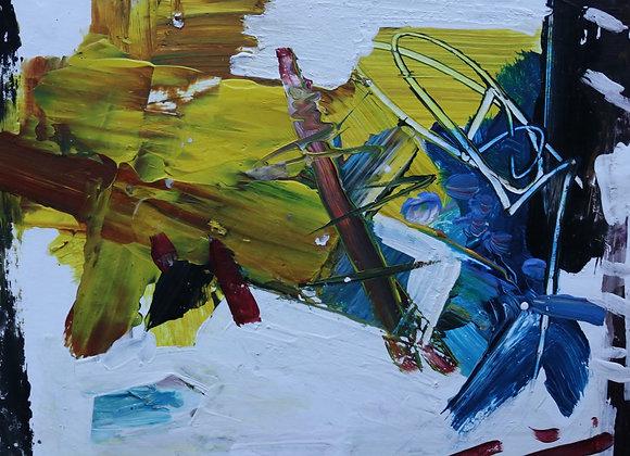 Exercitii de echilibru - pictura Madalina Costache