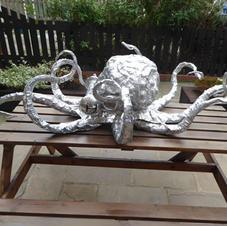 Aluminium octopus