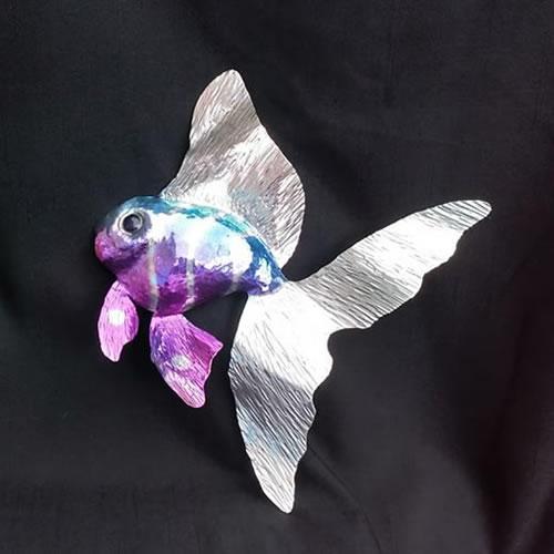 Aluminium fish