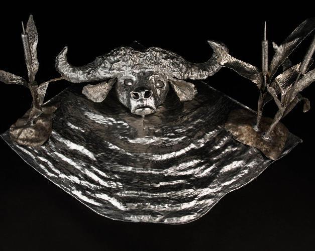 Aluminium swimming water buffalo