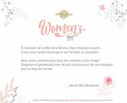 Pavé Chocolats - Fête de la Femme 2019 (