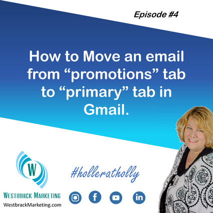 """How to Move an Email from the """"Promotions"""" tab to the """"Primary"""" tab in Gmail"""