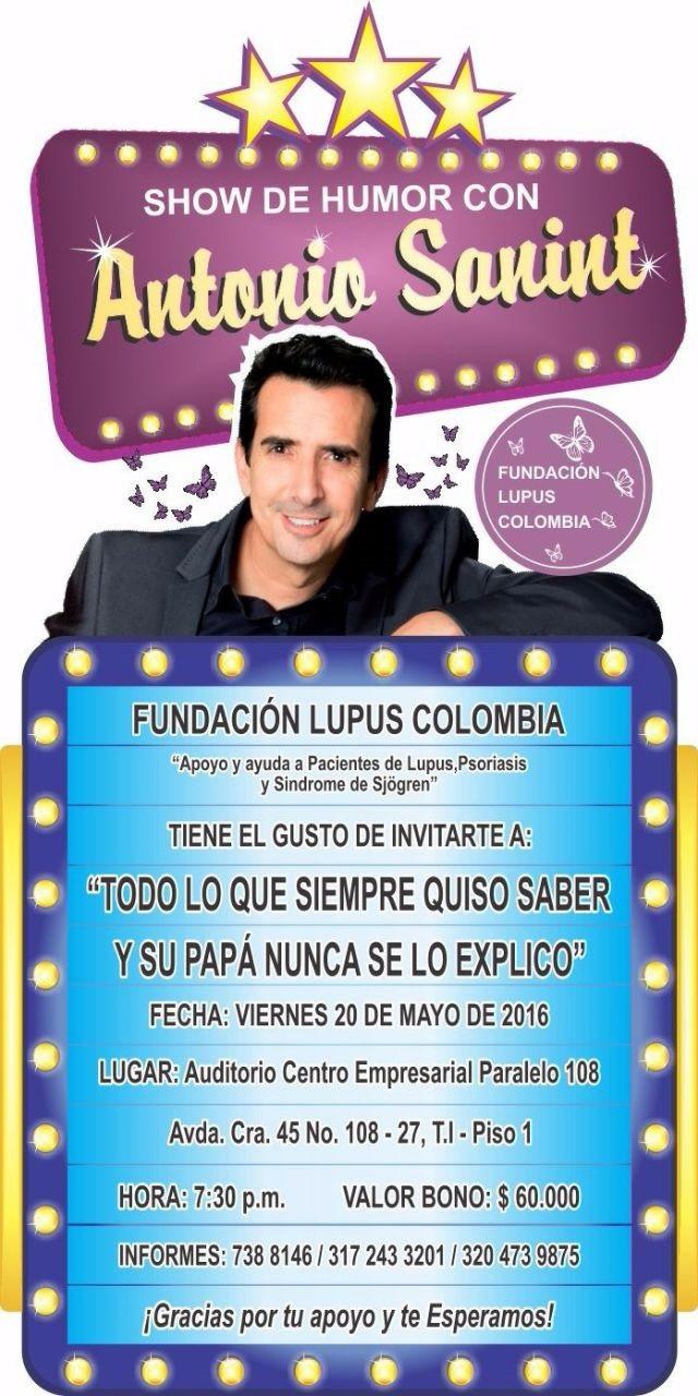 Administración Invita en apoyo a la Fundacion Lupus Colombia