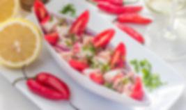 Ceviche Restaurante Raízes em Ubatuba