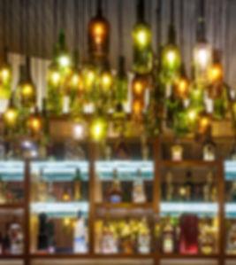 bar do restaurante raízes em Ubatuba