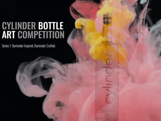 CoreBev's Cylinder Vodka Announces Bottle Art Contest