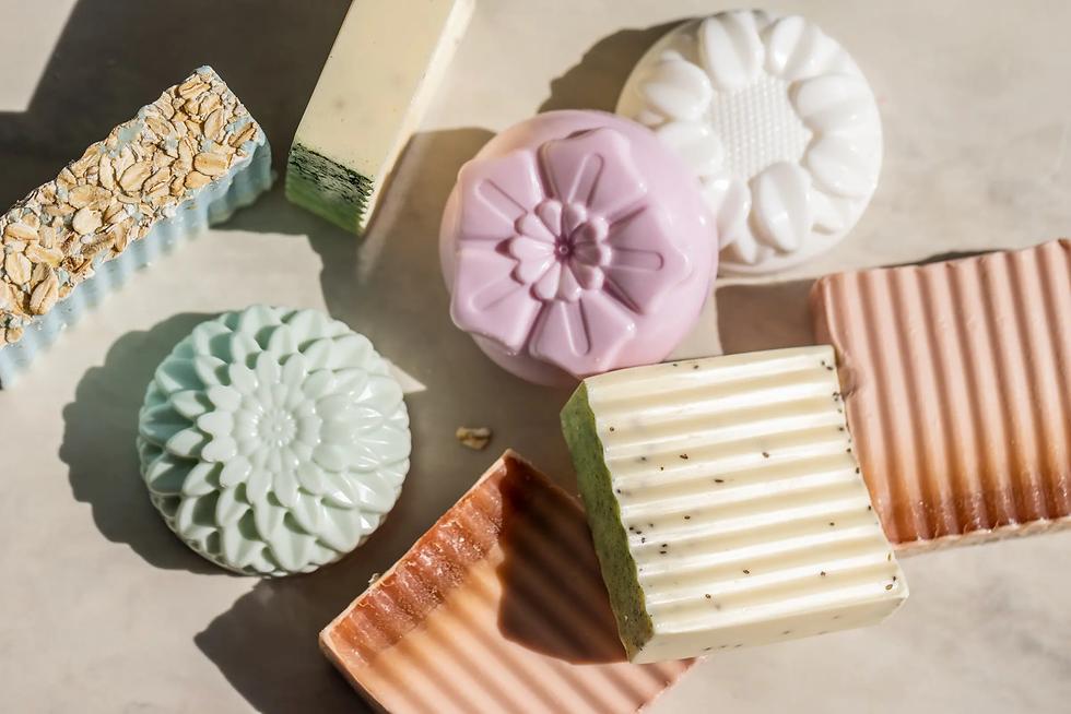 oak-tree-soaps-assorted-soaps-background