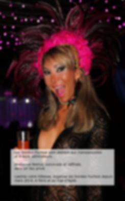 soirée trans travesti à Pari