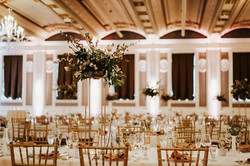 portland wedding planner decorates