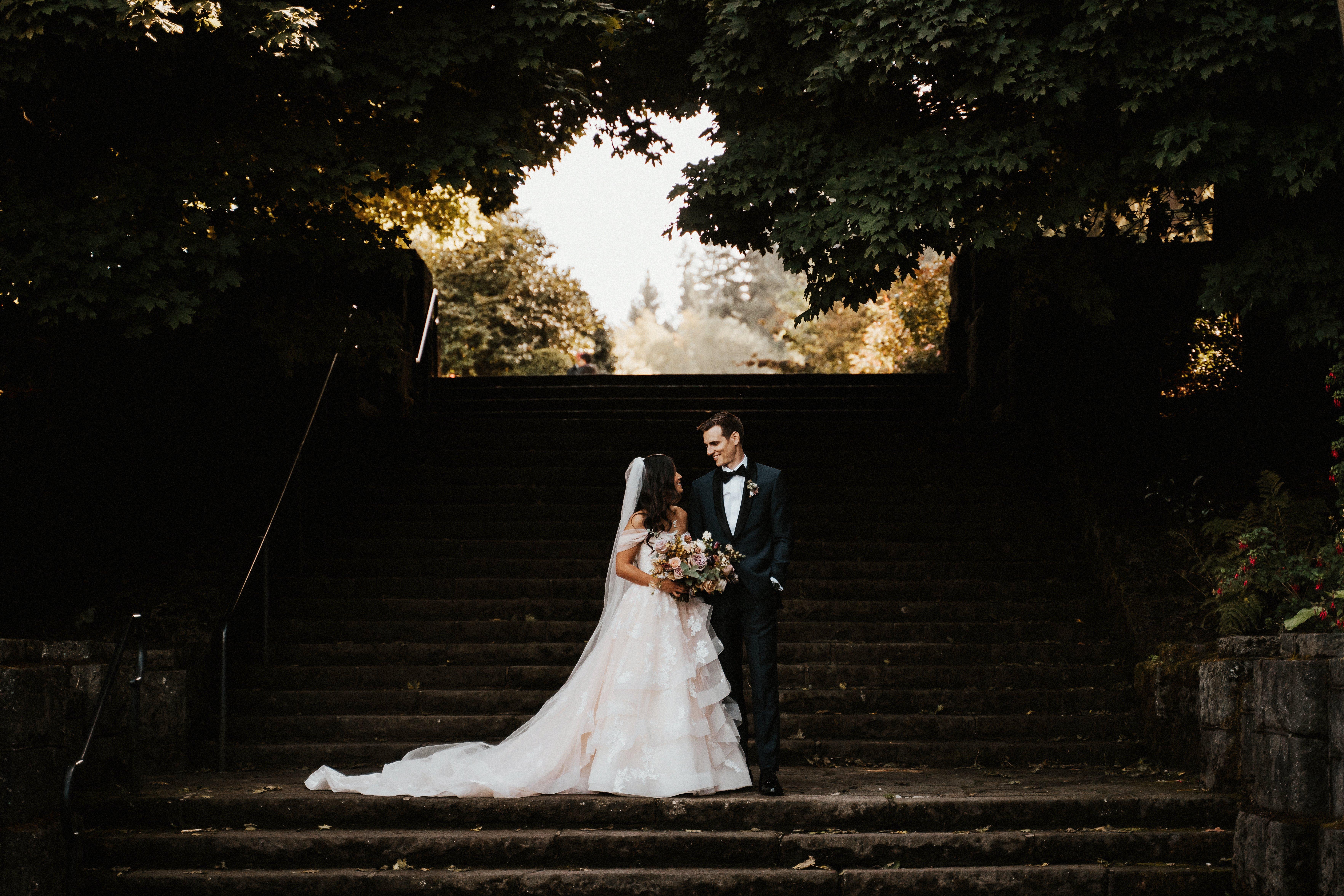 Portland Wedding First Look pic