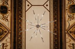 light fixture in Sentinel Hotel