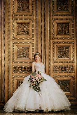 Gold Doors at Treasury Ballroom