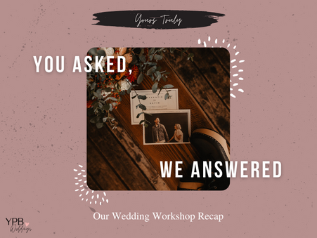 Couples' FAQs about Wedding Planning in 2021 & 2022