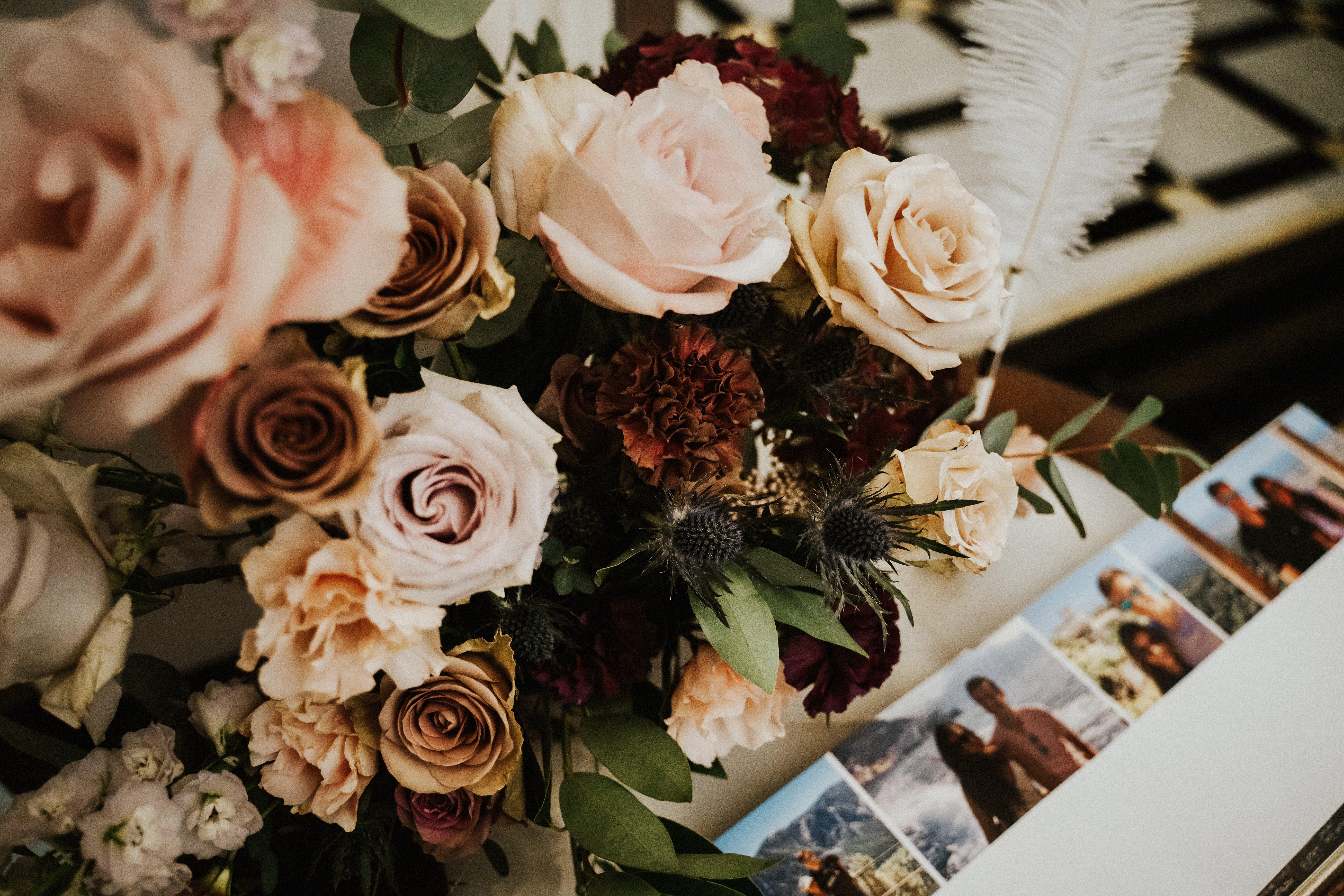 bridal bouquet portland wedding