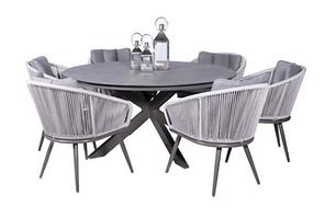 aspen 6 seater dining set