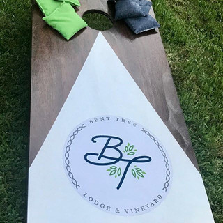 Enjoying our corn hole set from _restora