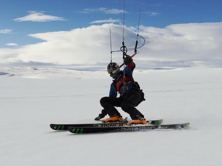 Jak se dostat v zimě 2021 do Norska na Snowkiting?