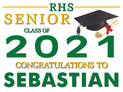 Royal High School Yard Sign