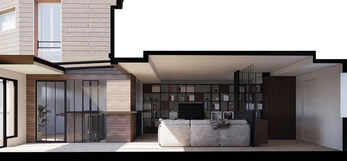 Atelier Alma architectes_Extension à Mal