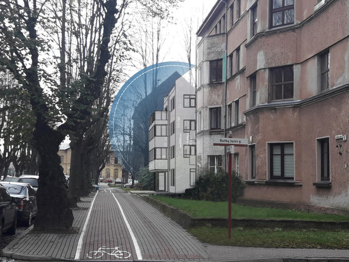 Jaunimo nakvynės namai, S. Nėries g. 18, Klaipėda