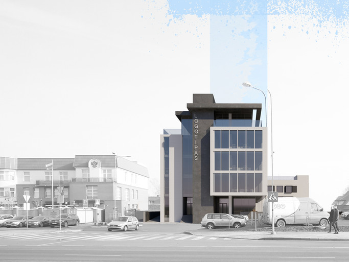 Administracinis pastatas, Šermukšnių g. 10, Klaipėda