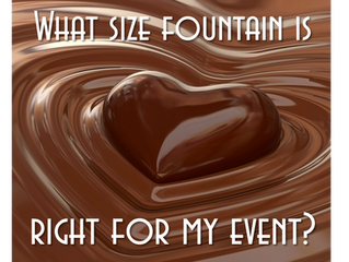 What's the right size fountain for my event?