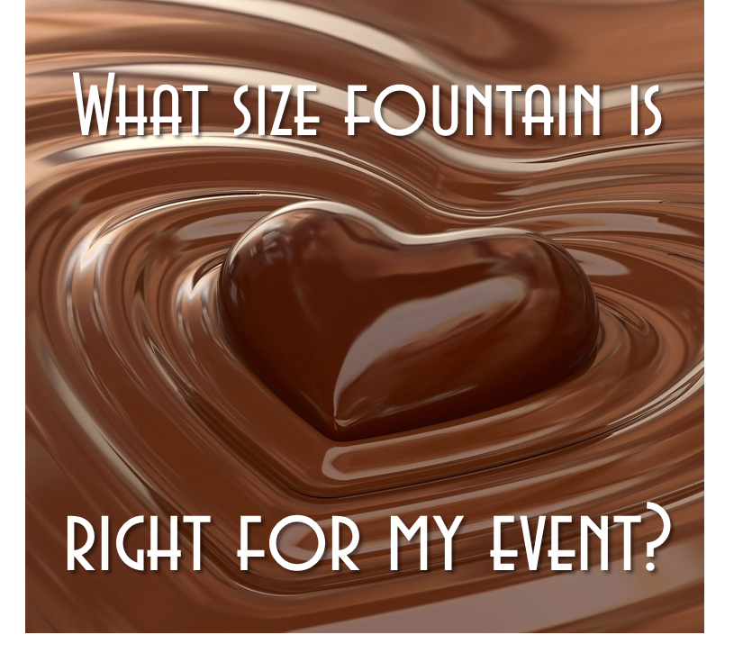 What Size Fountain Is Right For My Event?
