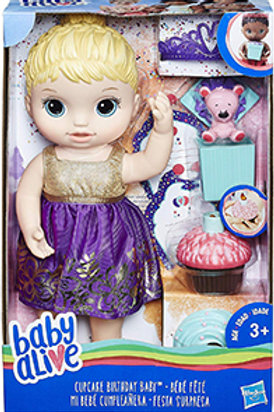 Baby Alive Cupcake Birthday Baby (Blonde)