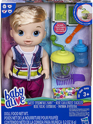 Baby Alive Sweet Spoonfuls Baby (Blonde)