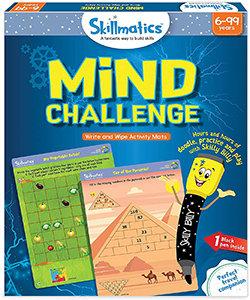 Skillmatics: Mind Challenge (Write & Wipe Activity Mats) (6-99 Years)