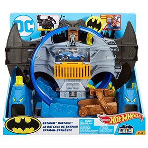 Hot Wheels City Batman Batcave Track Set