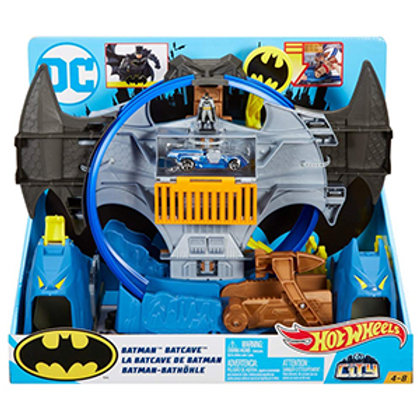 Hot Wheels City Batman Batcave Track Set