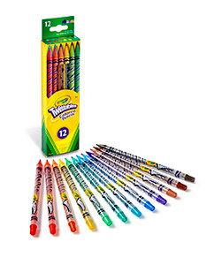 Crayola Twistables Coloured Pencils (12)