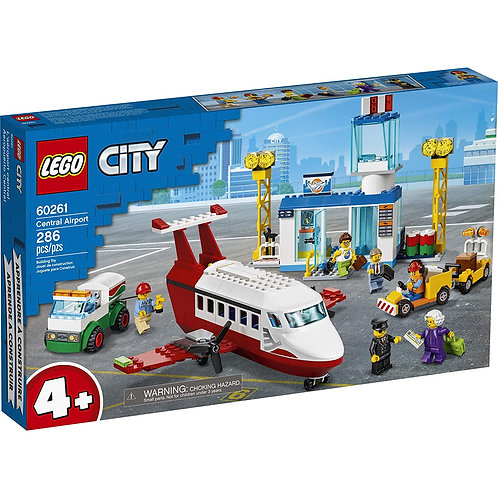 LEGO City Central Airport Building Toy
