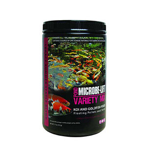 Microbe-Lift Variety Mix (Koi & Goldfish Food) – Floating & Sticks (312 g)