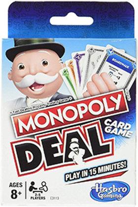 Monopoly Deal Card Game - Hasbro