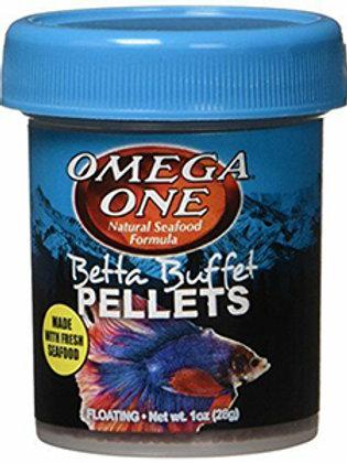 Omega One Betta Buffet Pellets (1oz)