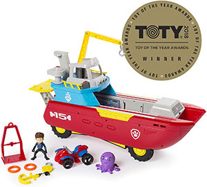 PAW Patrol Sea Patrol - Sea Patroller Transforming Vehicle with Lights & Sounds