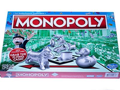 MONOPOLY - GRAB THE FLYING CASH (Hasbro)