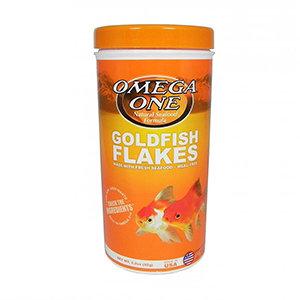 Omega One Goldfish Flakes (2.2 oz)