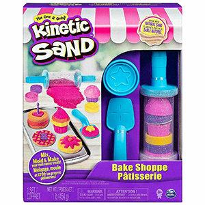 Kinetic Sand Bake Shop Play Set - Play Sand Sandcastle Mold Build