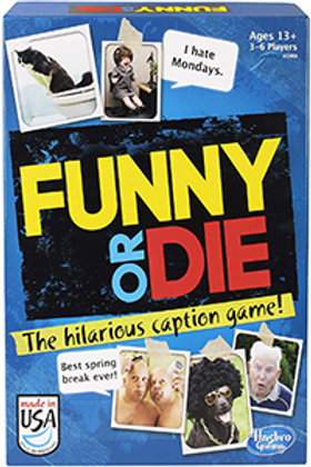 Funny or Die (The Hilarious Caption Game) - Hasbro