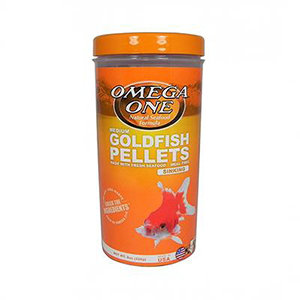 Omega One Medium Goldfish Sinking Pellets (8 oz)